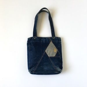Volcom Stone Denim Jean Purse Handbag 90's 00's